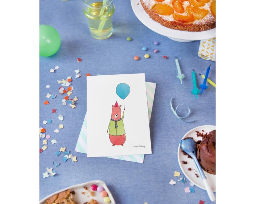 lacarteriedemma-lidbury-carte-Illustration-anniversaire-enfant-ballon