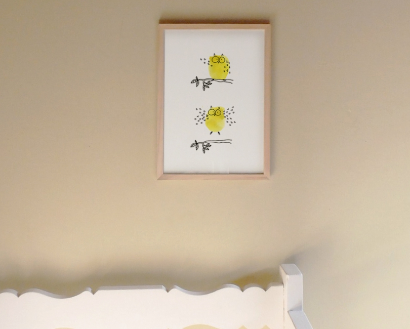 lacarteriedemma-lidbury-illustrations-happy-hibou-owl-yellow-jaune-birth-baby-kids-love-lyon
