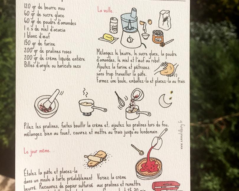 tarte-praline-recette-lyon-lidbury