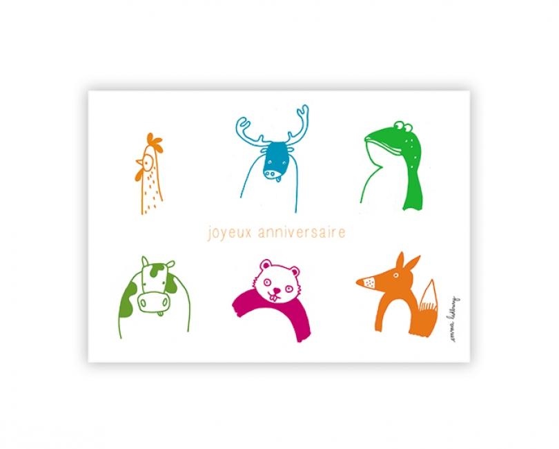 lacarteriedemma-lidbury-carte-Illustration-anniversaire-animaux