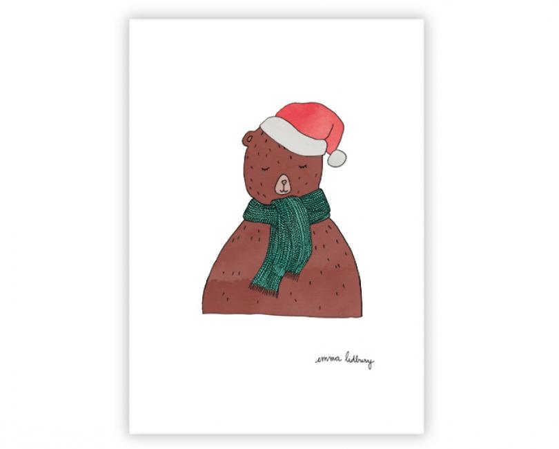 lacarteriedemma-lidbury-carte-oursons-noel-christmas