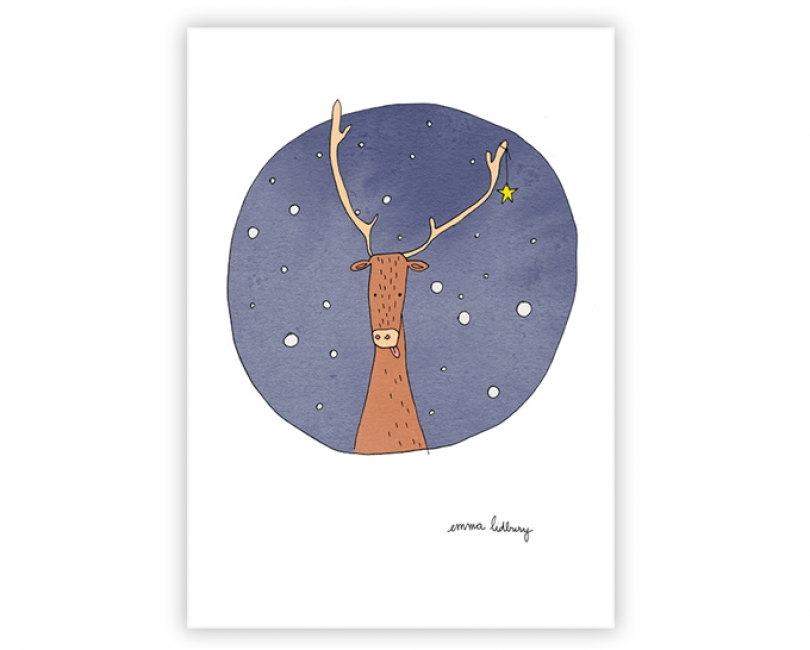 lacarteriedemma-lidbury-carte-renne-noel-christmas