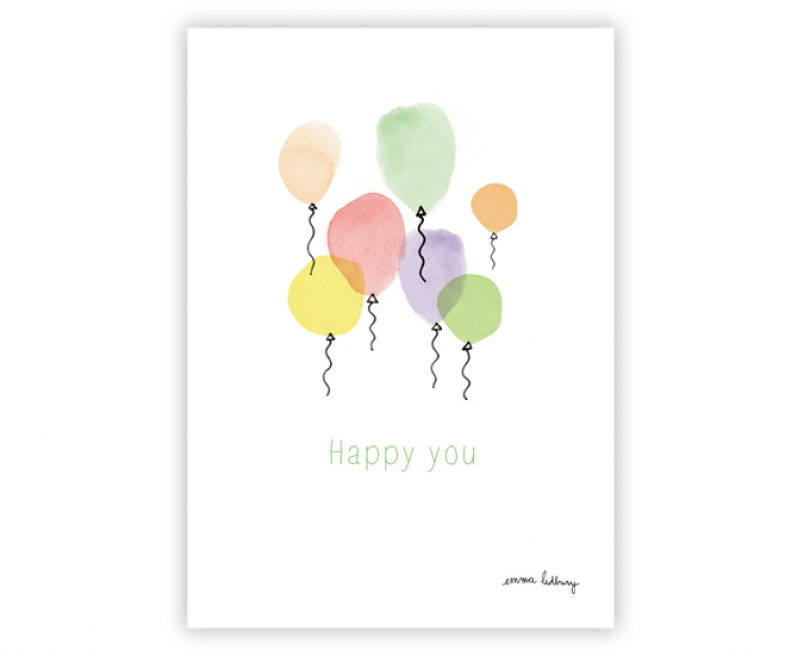 lacarteriedemma-lidbury-carte-Illustration-ballon-enfant-kids-hello-happy