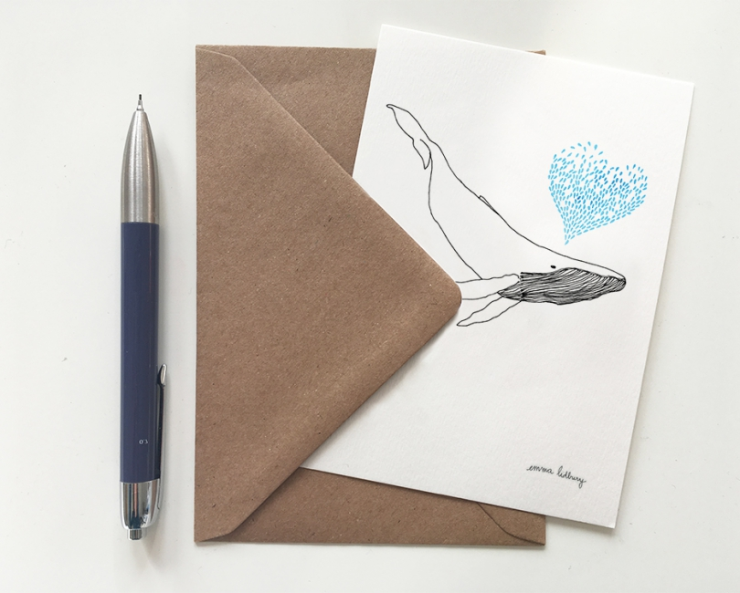 lacarteriedemma-lidbury-illustration-baleine-coeur-saint-valentin-love-lyon